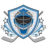 Ice hockey labels, badges. Ice Hockey emblem Stock Images