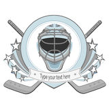 Ice hockey labels, badges Stock Image