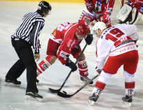 Ice hockey match Royalty Free Stock Image
