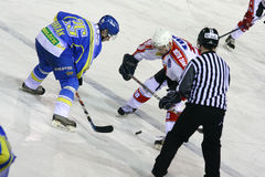 Ice hockey match Stock Image