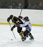 Ice hockey match Stock Image