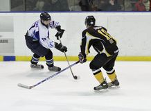 Ice hockey match Stock Photos