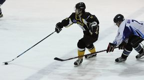 Ice hockey match Stock Images