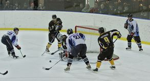 Ice hockey match Royalty Free Stock Images