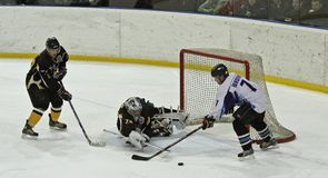 Ice hockey match Stock Photo