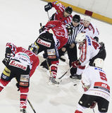 Ice hockey match Royalty Free Stock Photography