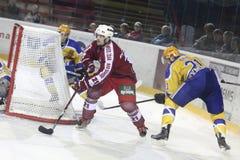 Ice hockey match Stock Photography