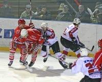 Ice hockey match Stock Photos