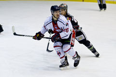 Ice Hockey Milan Red Blue Stock Photography