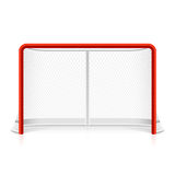 Ice hockey net Stock Images