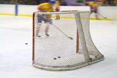 Ice hockey net Stock Photos