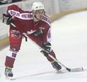 Ice hockey player Royalty Free Stock Photography