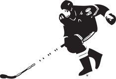 Ice hockey player Stock Image