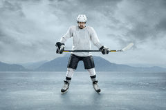 Free Ice Hockey Player Stock Photography - 37363392