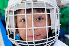 Ice hockey player Stock Photo