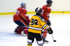 Ice hockey player stock photos