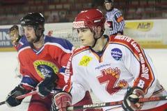 Ice hockey players Royalty Free Stock Photo