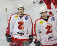Ice hockey players Stock Photography