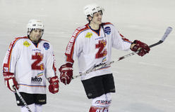 Ice hockey players Stock Photography