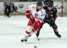 Ice hockey players royalty free stock images