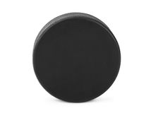 Ice hockey puck Stock Images