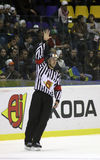 Ice-hockey referee Royalty Free Stock Image