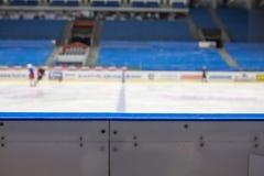 Ice Hockey Rink Background Royalty Free Stock Images