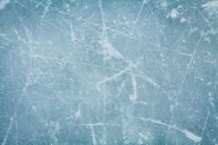 Ice hockey rink background or texture from above, macro,