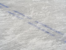 Ice hockey rink markings, winter sport background Royalty Free Stock Photography