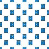 Ice hockey rink pattern seamless. Ice hockey rink pattern in cartoon style. Seamless pattern vector illustration Stock Photography
