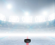 Ice Hockey Rink Stadium Stock Photos
