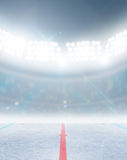 Ice Hockey Rink Stadium Stock Images