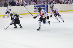 Ice Hockey Running Stock Photos