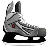 Ice hockey skates Royalty Free Stock Image
