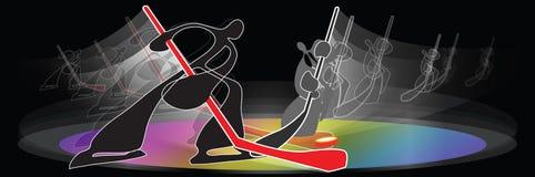 Ice Hockey Skates Stock Images
