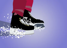 Ice hockey sport background Stock Photography
