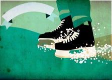 Ice hockey sport background Royalty Free Stock Photos