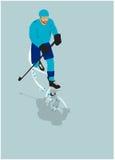 Ice hockey sport background Stock Image