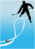 Ice hockey sport background Stock Image