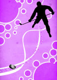 Ice hockey sport background Royalty Free Stock Photos