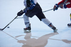 Ice hockey sport players. In action, business comptetition concpet Royalty Free Stock Photography