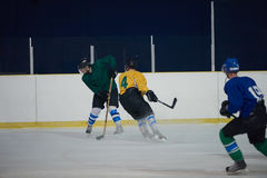 Ice hockey sport players. In action, business comptetition concpet Stock Image
