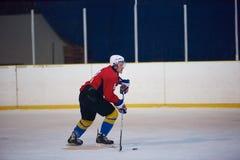 Ice hockey sport players Stock Photo