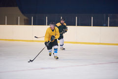 Ice hockey sport players. In action, business comptetition concpet Stock Photography