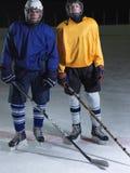 Ice hockey sport players Stock Photography