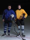 Ice hockey sport players Royalty Free Stock Photos
