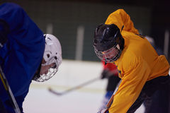 Ice hockey sport players Royalty Free Stock Photo