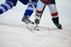 Ice hockey sport players. Comptetition concpet Stock Images