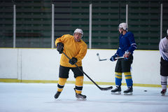 Ice hockey sport players. Comptetition concpet Royalty Free Stock Photos
