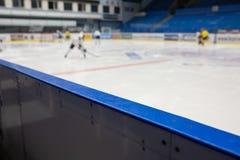 Ice Hockey Stadium Background Stock Photo